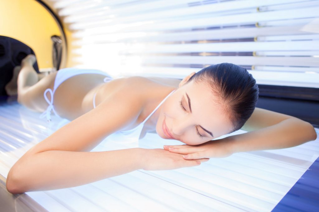 garing contrindications-tanning beds